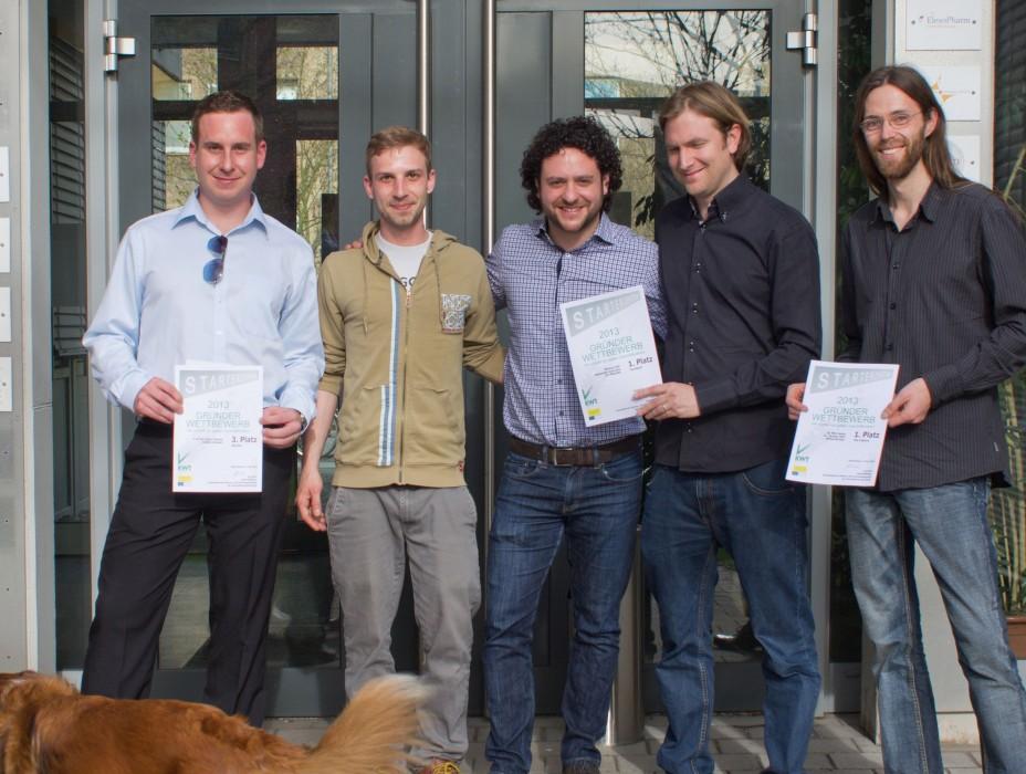 Sieger_Gründerwettbewerb Universität des Saarlandes