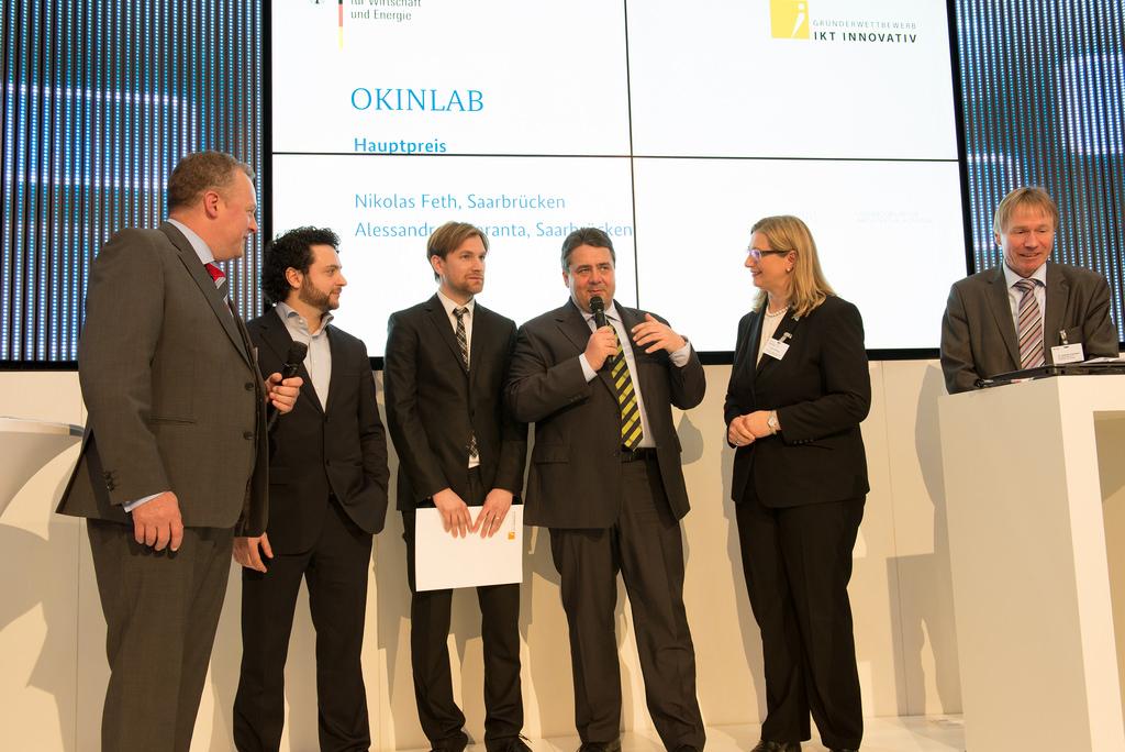 IKT Innovativ CeBIT 2014- Hauptpreis Okinlab2