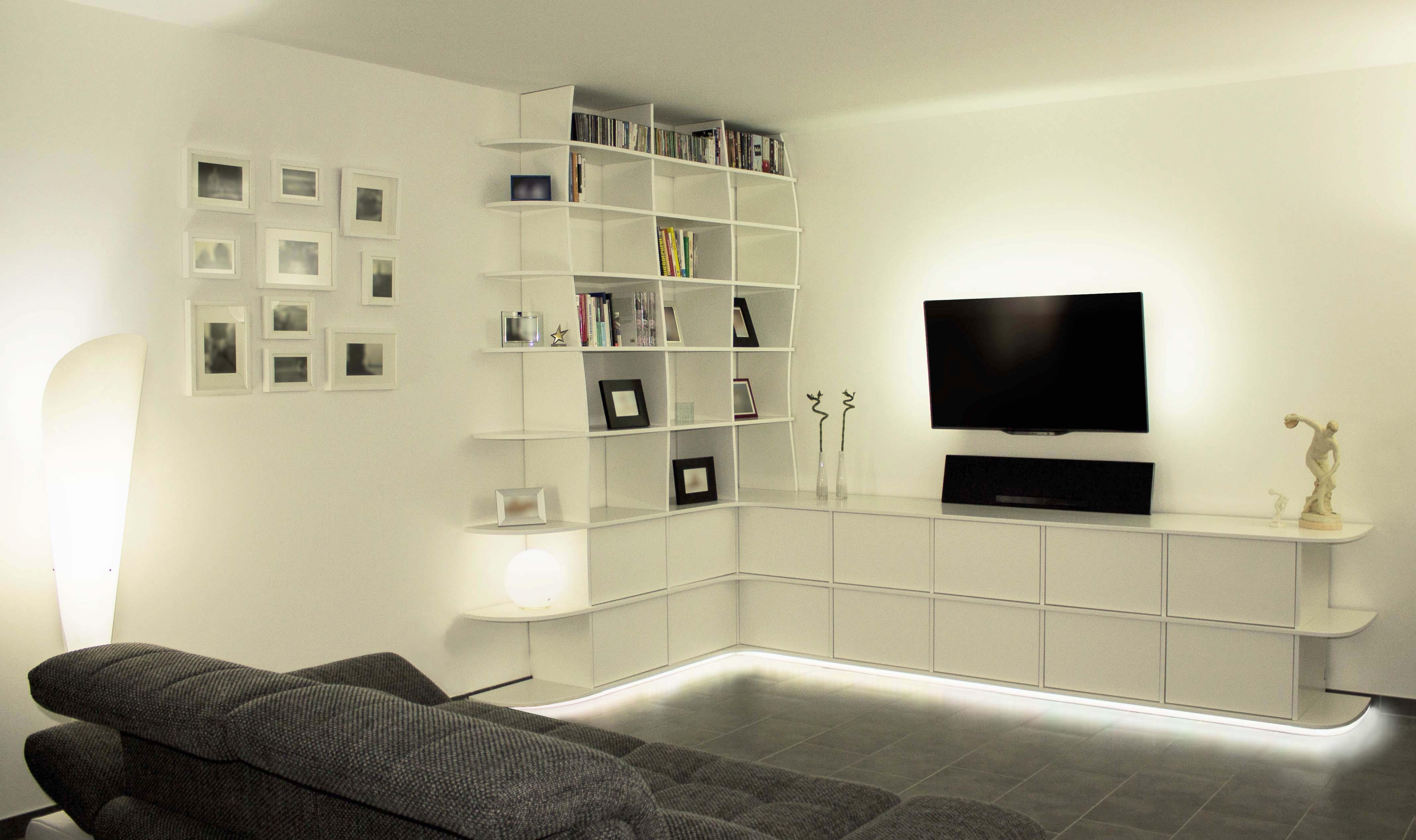 Wohnwand - TV Rack - Okinlab